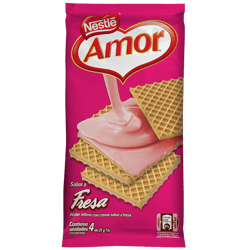 AMOR® Wafer fresa multipack 84g
